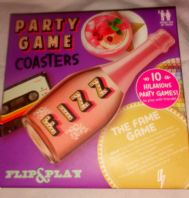 Party game coasters (Code 3929)